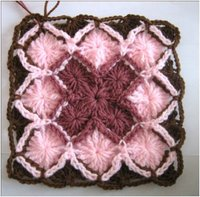 How to Crochet a Bavarian Square