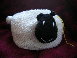 Sheep Yarn Holder Allfreecrochetcom
