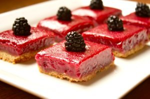 Blackberry Limeade Bars