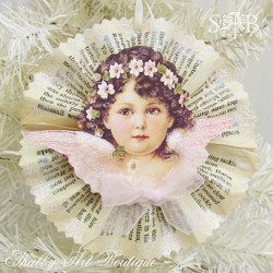 Victorian Angel Ornaments