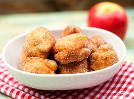 Ah-Mazing Apple Fritters