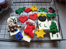 Salt Dough Tags and Decorations