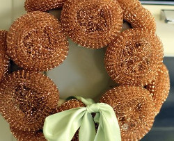 57 christmas crafts from recycled items for Decorative items from waste material for kids