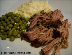 Slow Cooker Sprite Roast
