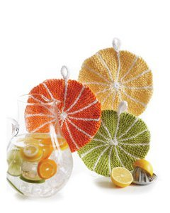 Citrus Slice Dishcloths