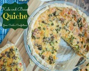 Kale and Bacon Quiche | AllFreeCasseroleRecipes.com