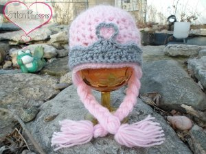 Surprise your little girl with this Pretty Princess Hat. She will feel like  royalty every time she puts on this crochet hat. The braids give it an  extra ... 3911191a5ff