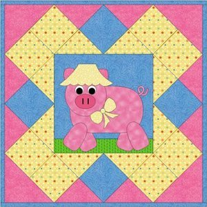 Pig in a Blanket Quilt