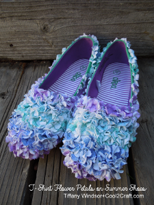 Fabulous Flower Petal Shoes