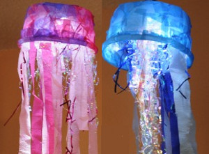 Jellyfish Light Ocean Crafts Allfreekidscrafts Com
