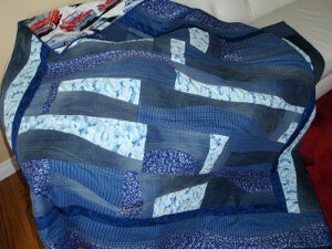 Denim Curves Quilt