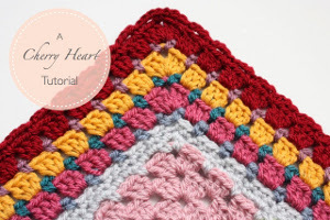 Granny Square Border Tutorial