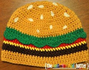 Yarn Review! Red Heart Amigurumi - Crochet Hamburger - YouTube | 236x300