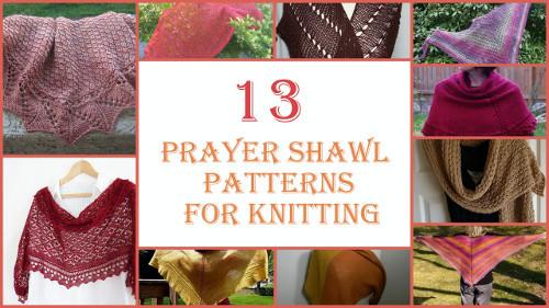 Free Prayer Shawl Knitting Patterns : 13 Prayer Shawl Patterns for Knitting AllFreeKnitting.com