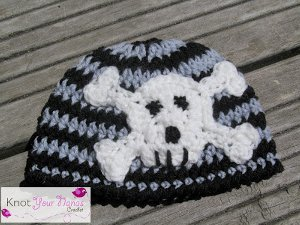 Punk Rock Baby Hat