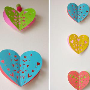 Giant Envelope Liners for Valentines Day AllFreePaperCrafts.com