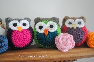 Vibrant Party Owls