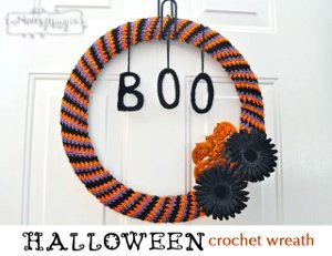 DIY Wreath for Halloween