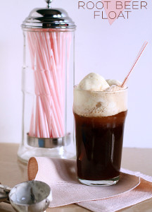 Boozy Root Beer Float