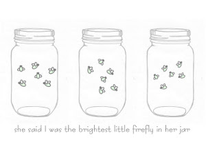 photo regarding Free Printable Mason Jar Template named Mason Jar Firefly Printable