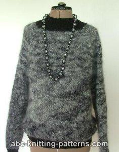 One Piece Mohair Sweater Allfreeknitting Com