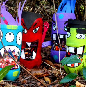 Silly Soda Bottle Monsters