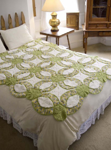 Wedding Ring Crochet Quilt Allfreecrochetafghanpatternscom