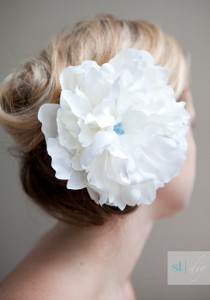 Simple Flower Hair Clip