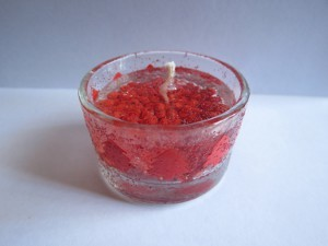 Christmas Gel Candle