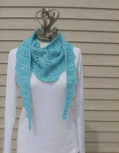 Wiggle Lace Scarf