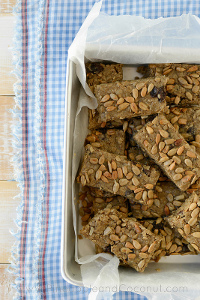 No-Bake Homemade Oatmeal Breakfast Bars