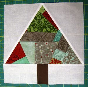 Paper Pieced Improv Tree Block Favequilts Com