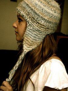 ee9343ba5f9 Short and Sweet Earflap Hat Pattern