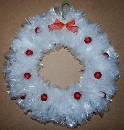 4 Wreaths Made from Recycled Materials