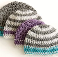 Crocheted Hats to Donate