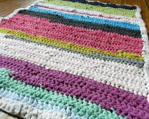 T Shirt Crochet Rug Allfreecrochetcom