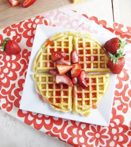 Mom's Perfect Waffles | FaveSouthernRecipes.com