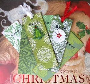 Diy Christmas Bookmarks Allfreeholidaycrafts Com