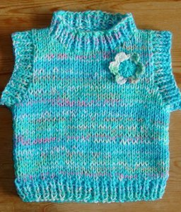af7329aa3 Ditsy Daisy Baby Vest