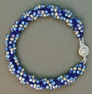 Simple seed bead bracelet for Simple beaded jewelry patterns