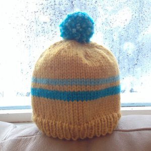 Then you can make the Retro Baby Ski Hat! This adorable little knit hat  pattern is a blast from the past as well as a festive ... d8a9ba42a22