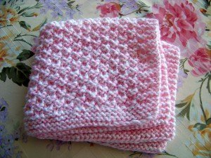 Best Knitting Stitches For Baby Blanket : Box Stitch Baby Blanket AllFreeKnitting.com