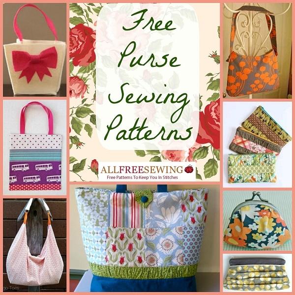 20 Free Purse Sewing Patterns  a49c6997337f7