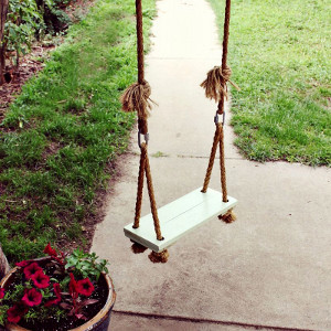 DIY Wooden Swing