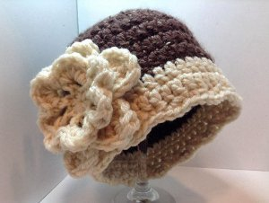 Downton Abbey Crochet Hat