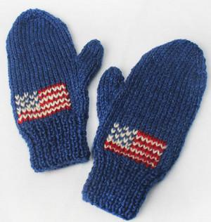 Team Usa Knit Mittens Allfreeknitting Com