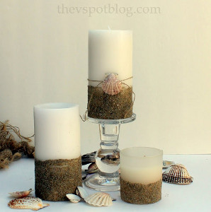 Hidden Pearl DIY Candles AllFreeDIYWeddings.com