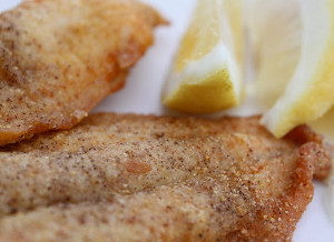 how to cook fish with cornmeal