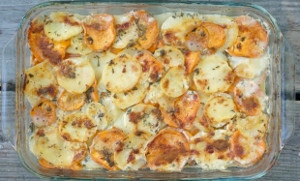 Yukon Gold and Sweet Potato Gratin ...