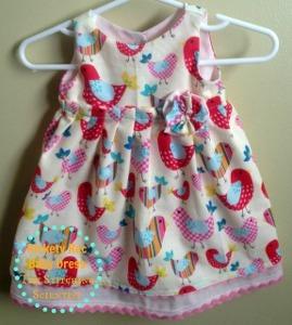 Easy Peasy Infant Dress Pattern Allfreesewing Com